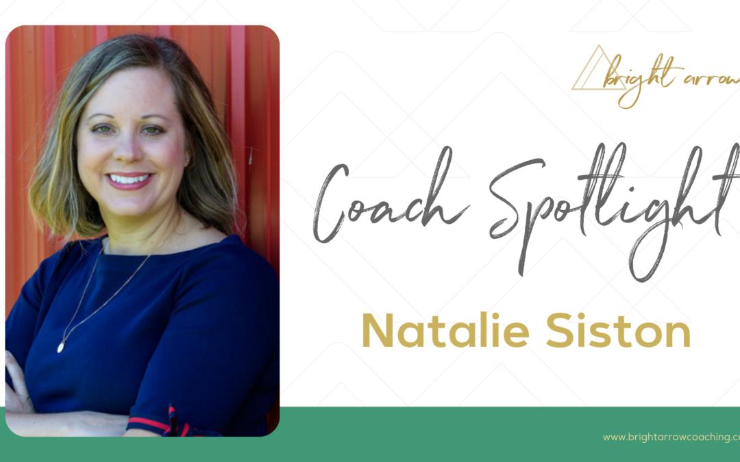 Coach Spotlight – Natalie Siston