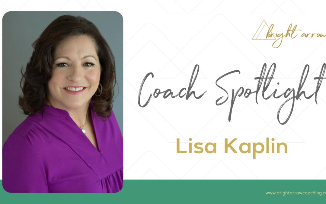 Coach Spotlight – Lisa Kaplin